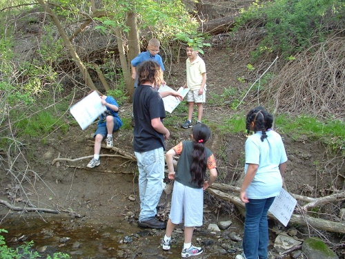 McClelland Stream Workshop, Burton Diehl Students